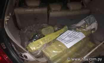 En control vehicular de Villeta hallan 34 kilos de marihuana - Hoy - Noticas de Paraguay y el Mundo.