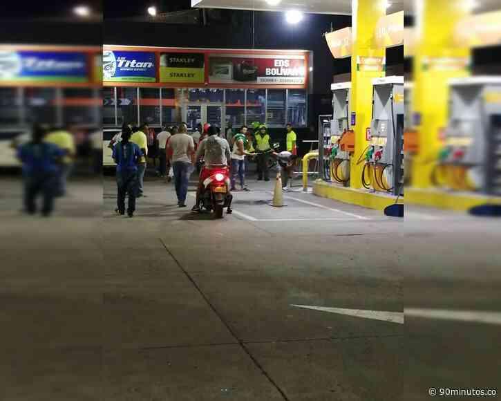 Atentado con artefacto explosivo contra estación de gasolina Primax en Jamundí - 90 Minutos