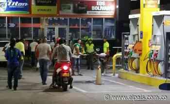 Lanzan artefacto explosivo en estación de gasolina de Jamundí - El País – Cali