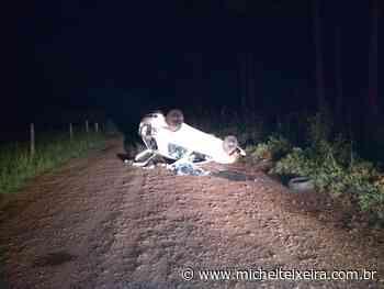 Adolescente de 17 anos morre após carro capotar no interior de Fraiburgo - Michel Teixeira