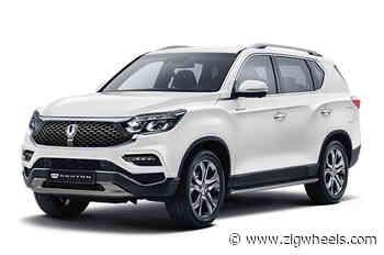 2020 Ssangyong Rexton Facelift Revealed - ZigWheels.com