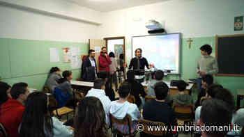 San Martino in Campo, alle scuole medie una mattina con i geometri - Umbriadomani
