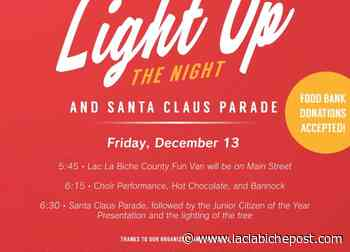 POSTER: Sponsor poster for Light UP - Lac La Biche Post