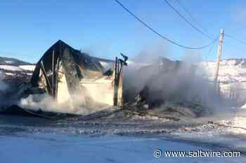 Labrador City snowmobile club loses groomer, truck and equipment in fire - SaltWire Network