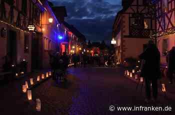 Lichterfest: Charmantes Prichsenstadt leuchtet im Mondschein - inFranken.de