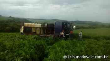 Viga de madeira cai de caminhonete e mata caminhoneiro de Siqueira Campos - Tribuna do Vale