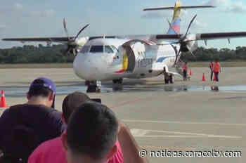 Aeropuerto de Aguachica recibió su primer vuelo comercial luego de 30 años de abandono - Noticias Caracol