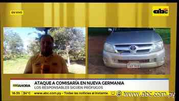 Ataque a comisaría en nueva Germania - ABC Noticias - ABC Color