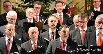 Schloß Holte-Stukenbrock: Weihnachtskonzert Männerchor und Schloss-Akkord - Neue Westfälische