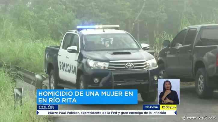 Provincias Detención provisional para sospechosos del crimen de una mujer en Río Rita de Colón - TVN Panamá