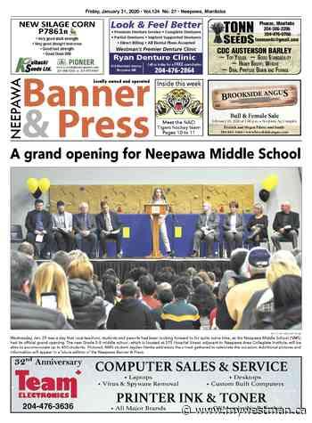 Friday, January 31, 2020 Neepawa Banner & Press - myWestman.ca