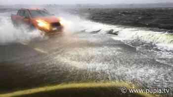 Maltempo in Campania: esonda lago Patria, crolla ponte sul Sarno, chiusa la Telesina - Pupia.tv - PUPIA