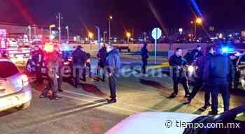 Capturan a 2 asaltantes tras persecución y balacera en turbo glorieta - El Tiempo de México