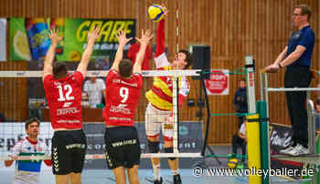 Hungrige BADEN VOLLEYS vor Spiel in Kriftel - volleyballer.de - Das Volleyball-Portal