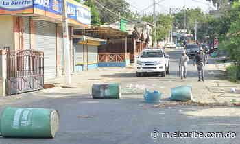 Baitoa protesta en demanda de agua y luz   Periódico El Caribe - Mereces verdaderas respuestas - El Caribe