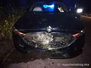 Otro que se duerme al volante, ahora en la carretera a Chemax - Reporteros Hoy