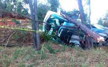 Volcadura de autobús en la Toluca-Ciudad Altamirano deja tres muertos y múltiples lesionados - El Sol de Toluca