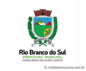 Processo seletivo Prefeitura de Rio Branco do Sul PR 2020: Professor - Notícias Concursos
