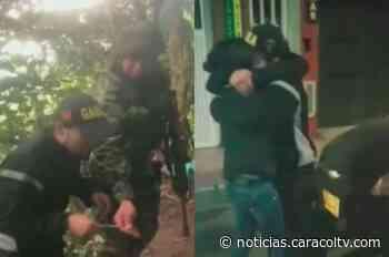Dramática reacción de joven comerciante tras ser liberado refleja los horrores del secuestro - Noticias Caracol