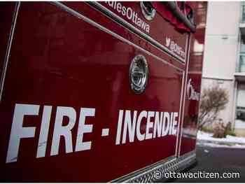Crews douse garage fire in rural Manotick area - Ottawa Citizen