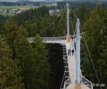 10-jähriges Bestehen: Am Samstag, 01. Februar: Skywalk in Scheidegg startet in Jubiläums-Saison - Scheidegg - all-in.de - Das Allgäu Online!