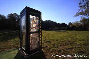 Bücherzelle in Radeberg wird aufgestellt - Sächsische Zeitung
