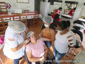 FSS de Buritama realiza curso gratuito de designer de sobrancelhas - Folha da Região