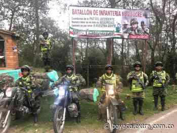 Mano dura contra delincuentes en Pauna y todo el occidente de Boyacá - Extra Boyacá
