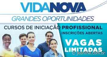 Prefeitura de Vargem Grande Paulista abre mais de 1.200 vagas para cursos - Jornal da Economia