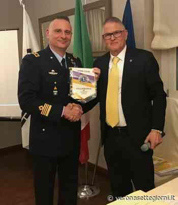 Il Comandante del 3° Stormo ospite del Lions Villafranca di Verona - Verona Settegiorni