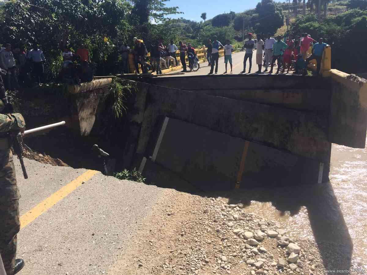 Colapso de puente en Vallejuelo deja varias comunidades incomunicadas - El Caribe
