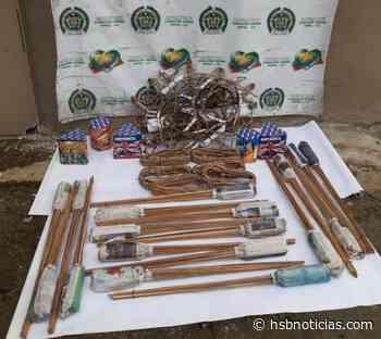 En la vía Condoto - Quibdó fueron incautadas mercancía y 30 kilos de pólvora | HSB Noticias - HSB Noticias
