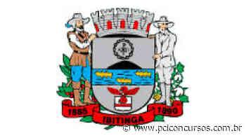Concurso Público da Prefeitura de Ibitinga - SP tem inscrição prorrogada - PCI Concursos