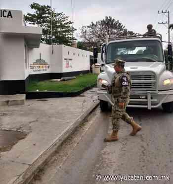 Militares llegan a Tixkokob - El Diario de Yucatán