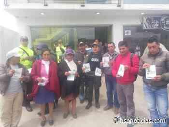 Previenen extorsiones y secuestro en Guachucal | HSB Noticias - HSB Noticias