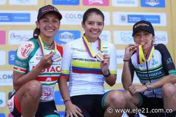 Lina Hernández y Catalina Gómez brillaron en Tunja y son las nuevas campeonas nacionales de ruta 2020 - Eje21