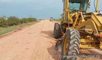Habilitados 45 kilómetros de la vía Orocué en el sectro Algarrobo - Noticias de casanare - La Voz De Yopal