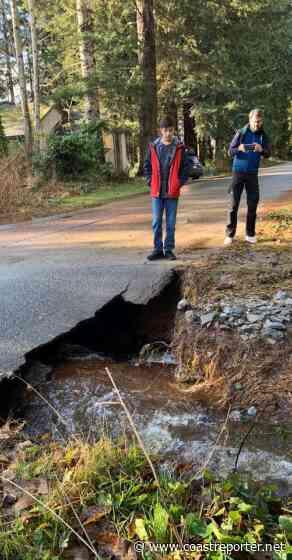 Roberts Creek roads hit by major washouts - Coast Reporter