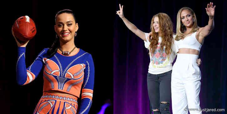 Katy Perry Sends a Message of Support to Jennifer Lopez & Shakira on Super Bowl Sunday!