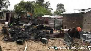 Dos personas murieron calcinadas tras incendio en Pajas Blancas - Subrayado.com.uy