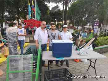 Productores del campo de Apía y Santuario recibieron insumos de la Gobernación para mejorar su rentabilidad - Eje21