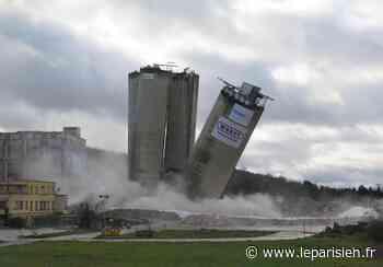 Cormeilles-en-Parisis : les silos de la cimenterie rayés de la carte ! - Le Parisien