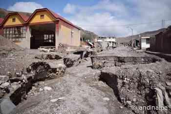 Prorrogan estado de emergencia por desastre en distrito tacneño de Ilabaya - Agencia Andina