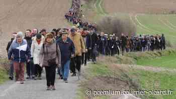 Marche de Solidarité pour l'Australie à Villers-Bretonneux - Courrier picard