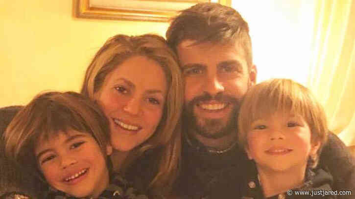 Shakira & Husband Gerard Pique's Kids Are So Cute (Photos)