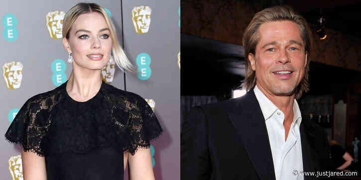 Margot Robbie Reads Brad Pitt's Hilarious Speech for Him at BAFTAs 2020!