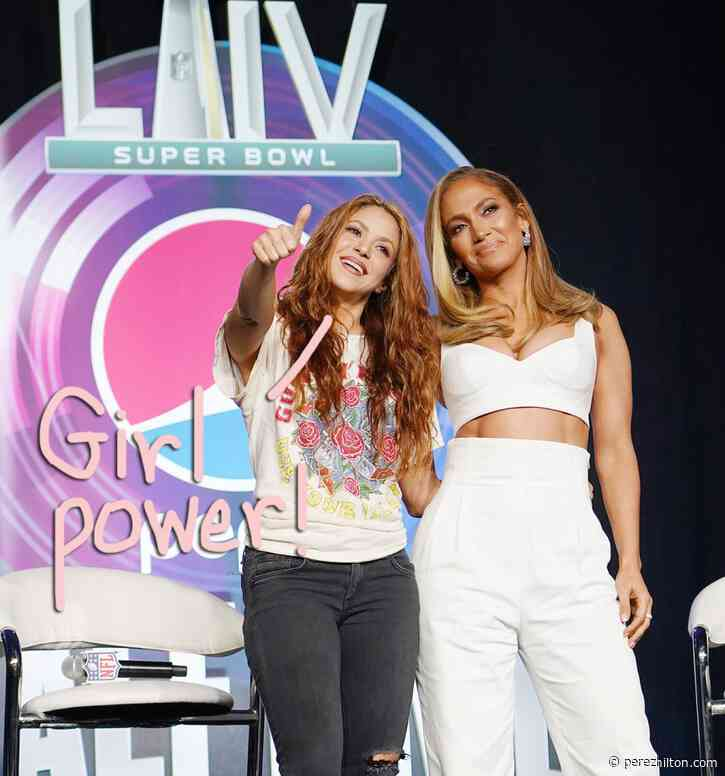Jennifer Lopez To Shakira Before The Super Bowl: 'Let's Show The World What Two Little Latin Girls Can Do'