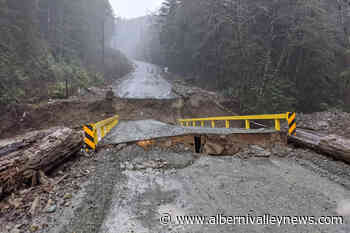 Bamfield Road closed, flood warning issued for western Vancouver Island - Alberni Valley News