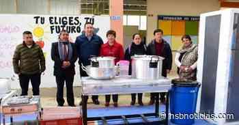 Dotaron a tres restaurantes escolares en Gualmatán, Nariño | HSB Noticias - HSB Noticias