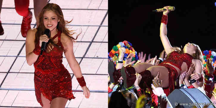Shakira Went Crowd Surfing & Danced Her Heart Out During Super Bowl Halftime Show!